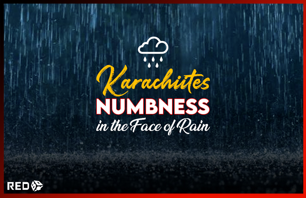Learn about the issues that Karachiites face, how awful it becomes after a few milliliters of rain, and how this is a story that repeats itself every monsoon season
